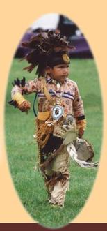 Traditional Iroquois Dancer